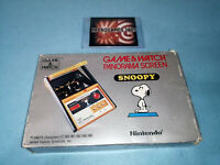 NINTENDO Game & Watch Panorama Screen Snoopy BOXED G&W