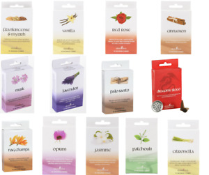 Pack of 12 Elements Incense Cones Multiple Choose Cones Home Fragrance Scent
