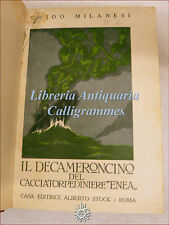 GUERRA: Guido Milanesi, IL DECAMERONCINO DEL CACCIATORPEDINIERE ENEA 1929 Stock