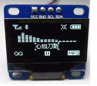 """3-5V 0.96 """"12C Serial 128X64 OLED LCD LED Anzeigemodul für Arduino White  DE"""