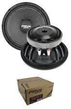 "2 x PRV 8"" Midrange Loudspeaker 1200 Watt 4 Ohm Car Audio 8MR600X-4"