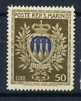 San Marino 1945 Sass. 295 Nuovo ** 100% Stemmi
