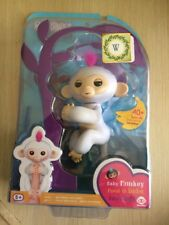 Authentic Fingerlings Baby Monkey Interactive By WowWee - SOPHIE WHITE