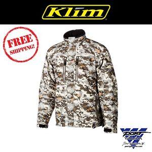 Klim Men's Camo Keweenaw Parka Gore-Tex Jacket 3095-001-xxx-330 (Non-Current)