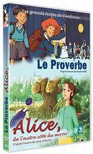 """DVD NF """"LE PROVERBE + ALICE, DE L'AUTRE COTE DU MIROIR"""" dessins animes"""