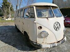 vw t1 typ 27 transporter bus samba  ambulance krankenwagen 1965 Germany , video