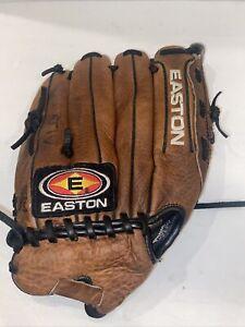 "Easton NAT60 Natural Series Leather 12 1/2"" Baseball Softball Glove Mitt RHT"