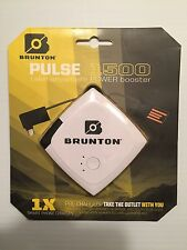BNIB BRUNTON PULSE 1500 USB POWER BOOSTER / CHARGER  RRP £29.99 FREE P&P