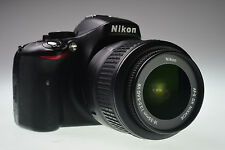NIKON D5100 with AF-S VR DX NIKKOR 18-55mm f/3.5-5.6G Shutter Count 13586