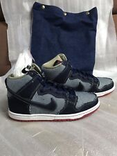 Nike SB Dunk High Denim 15 Year Anniversary Reese Forbes Special Bag