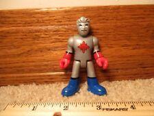 Imaginext DC Superfriends Heroes of Gotham Batman Captain Atom Silver guy man