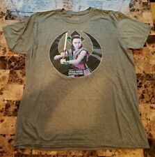 Celebration 2019 Chicago STAR WARS Limited Collectible T-Shirt Rey SIZE XL
