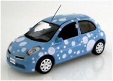 J COLLECTION JC 210 NISSAN MARCH 2009 model car Bubble blue 2007 1:43rd scale