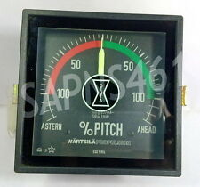 WARTSILA % PITCH ASTERN AHEAD RPM METER  *NEW-UNUSED STOCK*
