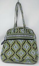 VERA BRADLEY CAMBRIDGE Shoulder Purse Tote Satchel Retired Zip Closure