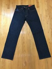 260$ Jean Shop NYC Rocker(A) Straight Leg Selvedge Indigo Denim Jeans Size 29