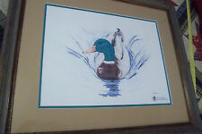 R.Talley Duck Print Signed AP19/40