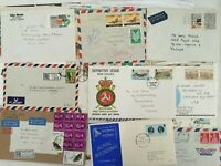 Lot of Mixed Stamps FDC First Day Covers Airmail Postage etc