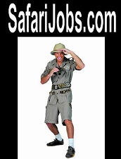 Safari Jobs  .com Travel Camp Forest Trees  Conventions Domain Name For Sale URL