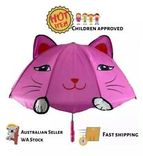 Kitty Cat Cute Fun 3D Animal Children Kids Small Size Umbrella For Play School