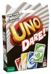 Uno Dare Card Game By Mattel CDY11