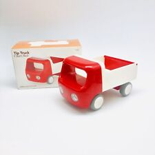 Kid O Toy Tip Truck Red Plastic with Lifting Bed and Tailgate In Box