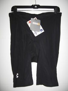 CANNONDALE CYCLING BICYCLE SHORTS MEN'S 2X BLACK NEW with tags