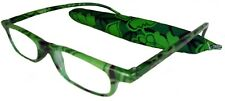 Mr.Reading Glasses [+2.50] 1 Plastic Frame Fashion Design Matching Pouch 2.50
