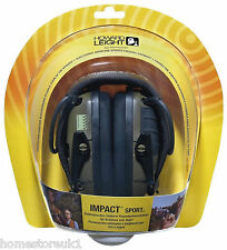 Electronic Ear défenseurs Howard Leight Impact Sport tir cache-oreilles protection