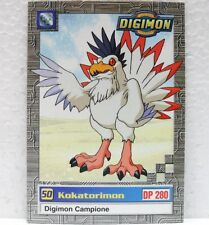 DIGIMON TRADING CARDS - KOKATORIMON 34/34 - CARTE UFFICIALI SERIE TV-1a SERIE
