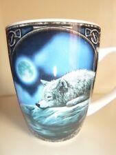 Wolf laying by the lake & Moon Mug Designed By Lisa Parker Comes In A Gift Box