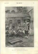 1898 The Cockney In Devonshire The Seaforth Highlanders Pipers