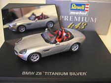 BMW Z8 cabriolet convertible Titanium silver 1/43 REVELL 28245 voiture miniature