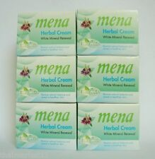 6 PCS./MENA Extra Whitening Anti-Aging Herbal Mineral Renewal Natural Cream 3g.