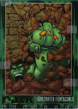 THE INCREDIBLE HULK THE MOVIE ILLUSTRATED CARD IF04