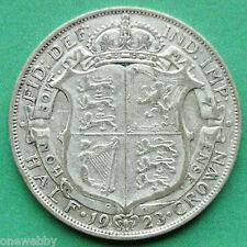 1923 George V Silver Half-Crown SNo24928