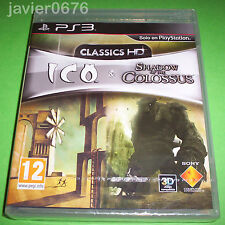 ICO & SHADOW OF THE COLOSSUS HD COLLECTION NUEVO Y PRECINTADO PAL ESPAÑA PS3
