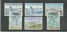 BELGIUM 1960 PARACHUTING SG,1726-1731 M/MINT LOT 6867A