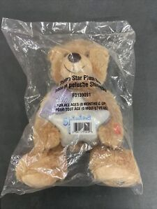 Shining Star Musical Plush Bear - International Star Registry F3139091 (Sealed)