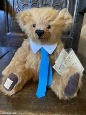 Dean's Rag Book Collector's Teddy Bear. With Labels. Long Mohair, 12 Inches.
