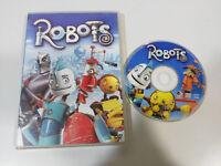 ROBOTS DVD + EXTRAS ANIMACION ESPAÑOL ENGLISH PORTUGUES REGION 2