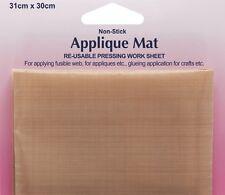 Non-Stick Applique Pressing Mat PTFE TEFLON RE-USABLE Ironing cloth Hemline H855