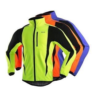 Thermal Cycling Jacket Winter Bicycle Windproof Waterproof Coat for MTB Bike