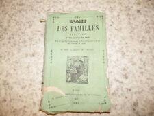 1858.L'ami des familles.Almanach Laval Mayenne.