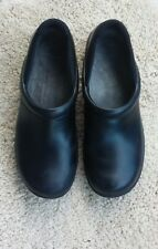DANSKO Black, Professional Slip On, Rubber Sole, Slip Resistant, SIZE 41, Unisex