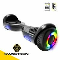 "Swagtron T881 Twist Hoverboard w/ LED 6.5"" Wheels Lithium-Free Dual 250W Motors"