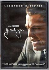 """DVD """" J. EDGAR   """"  avec LEONARDO DICAPRIO    de  CLINT EASTWOOD   BON ETAT"""