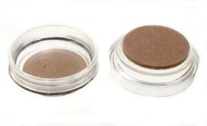 Paquet De 100 Roulette Tasses Meuble Protection Sol Glisse Transparent & Feutre