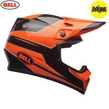 Bell MX9 Stryker Flo Orange Motocross MX Helmet Adult Large 59-60cm MIPS