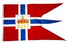 Norwegen Flagge 250 x 150 cm wetterfest Fahne Ösen Innen Außen große Hissflagge